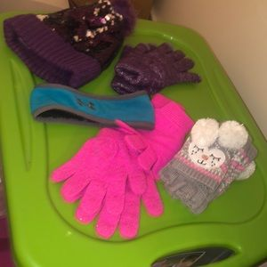 Youth girl cold weather bundle